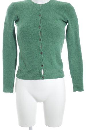 Ralph Lauren Cardigan grün Webmuster Casual-Look