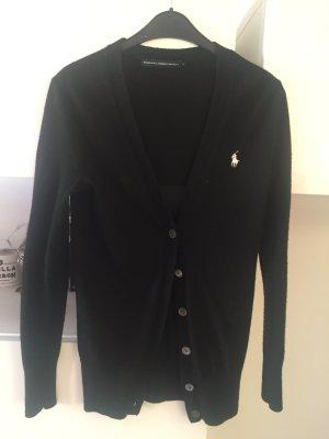 Ralph Lauren cardigan Pullover Strickpullover schwarz  Gr M