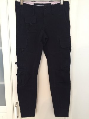 Ralph Lauren Pantalone cargo blu scuro