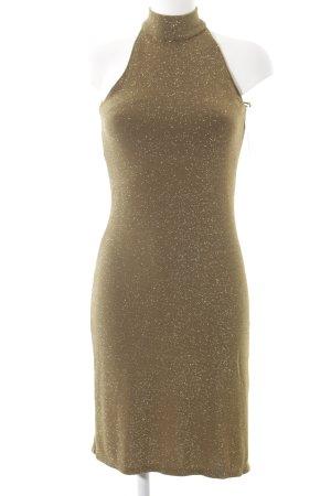 Ralph Lauren Cocktailkleid goldfarben Party-Look