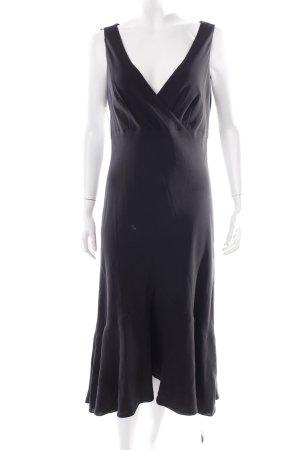 Ralph Lauren Cocktailkleid schwarz klassischer Stil