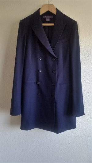 Ralph Lauren Collection, Blazer, lang, double breasted, navy, 38 (US 8), Wolle, neu, € 4.000,-