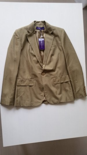 Ralph Lauren Collection, Blazer, Seide, khaki, 36, neu, € 2.250,-