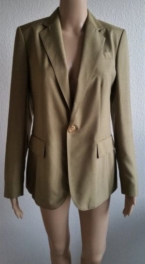 Ralph Lauren Wool Blazer green grey silk