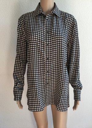 Ralph Lauren Collection, Bluse, schwarz-weiß, Seide, 36 (US 6), neu, € 650,-