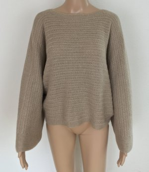 Ralph Lauren Collection, Boatneck Poncho, outmeal, XL, Cashmere, neu, € 1.500,-