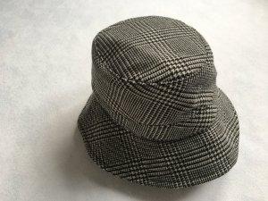 Ralph Lauren Collection, Bucket Hat,schwarz-weiß, 58 cm, Merinowolle/Baumwolle, neu, € 700,-