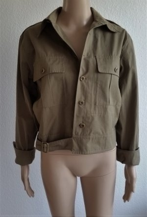 Ralph Lauren Collection, Cameron Jacket, oliv, Baumwolle, 38 (US 8), neu, € 1.850,-