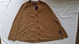 Ralph Lauren Collection, Cape, Cashmere, camel, S, neu, € 2.250,-, Rückenlänge ca. 71 cm.