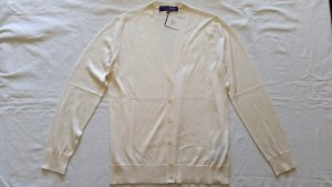 Ralph Lauren Collection, Cardigan, Seide, cream, M, neu, € 850,-