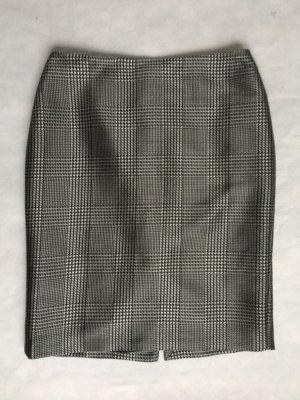 Ralph Lauren Collection, Cynthia Glen Plaid Skirt, schwarz-weiß, 42/44 (US 14), Wolle/Seide/Polyamide, neu, € 1.000,-