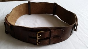 Ralph Lauren Waist Belt dark brown leather