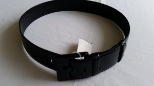 Ralph Lauren Leather Belt black leather