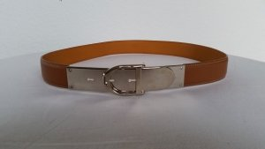 Ralph Lauren Leather Belt cognac-coloured leather