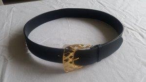 Ralph Lauren Collection, Gürtel, Leder, schwarz, M neu, € 650,-