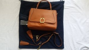 Ralph Lauren Collection, Handtasche Stirrup, tan, Leder, neu, € 2.500,-