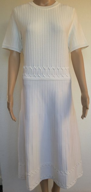 Ralph Lauren Collection, Kleid, elfenbein, L, Merinowolle/Nylon/Elasthan, neu, € 1.800,-
