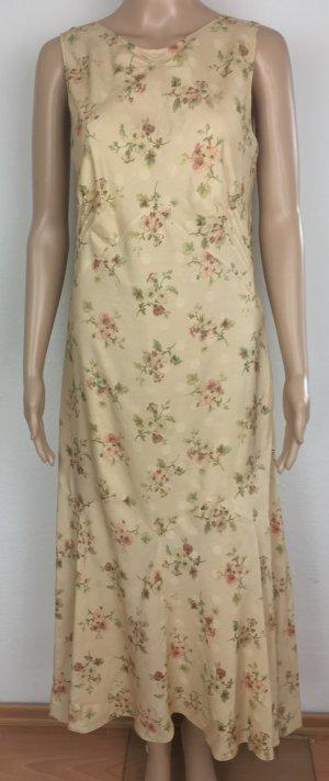 Ralph Lauren Collection, Kleid, vanilla, floral, 36 (US 6), Wolle/Seide, neu, € 2.000,-