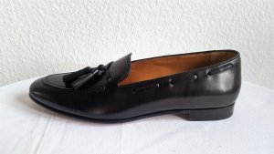 Ralph Lauren Collection, Loafer Quillis Calfskin Flat, schwarz, EU 39,5 neu, $ 625,-