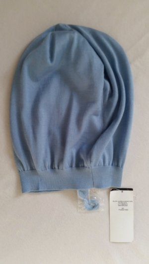 Ralph Lauren Collection, Mütze, blau, Seide/Cashmere, neu, € 300,-
