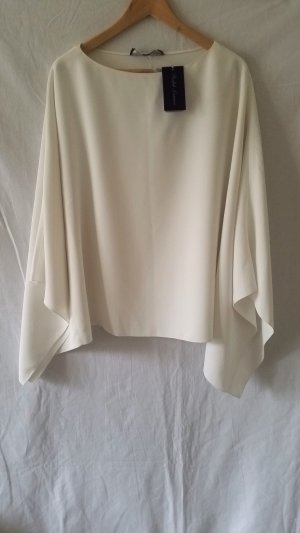 Ralph Lauren Collection, Poncho, offwhite, Polyester, M, neu, € 1.100,-