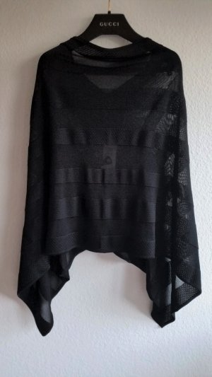 Ralph Lauren Collection, Poncho, Viskose, schwarz, XS/S, neu, € 1.500,-