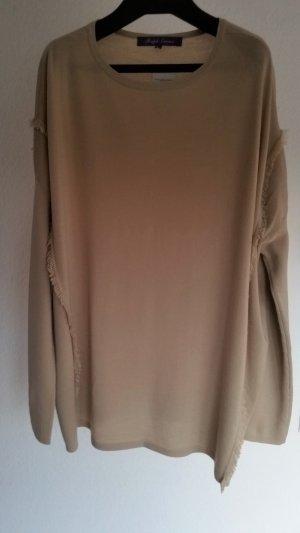 Ralph Lauren Collection, Pullover, oversized, classic tan, M, Merinowolle, neu, € 750, -