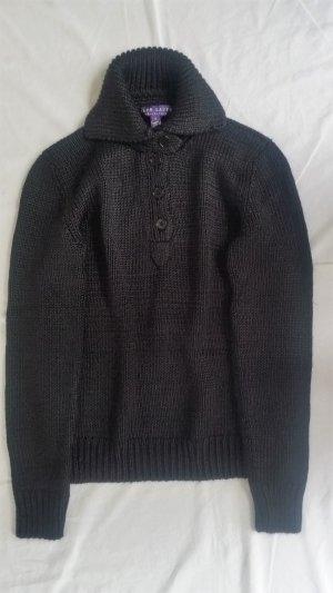 Ralph Lauren Collection, Pullover, schwarz, M, Seide/Kaschmir, neu, € 1.800, -