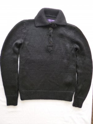 Ralph Lauren Collection, Pullover, Seide/Cashmere, schwarz, M, neu, € 1.650, -