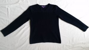 Ralph Lauren Collection, Pullover, Seide, marine, L, neu, € 1.200, -