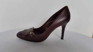 Ralph Lauren Collection, Pumps, 38, bordeauxrot, Leder, neuwertig, € 600, -