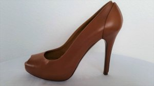 Ralph Lauren Collection, Pumps, Leder, cognac, 38, neu, € 690,-
