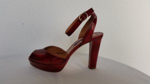 Ralph Lauren Collection, Pumps, rot, Leder, 39, neu, € 700,-