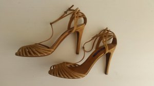 Ralph Lauren Collection, Pumps,Velours, braun, EU 40, neu, € 650,-