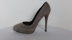 Ralph Lauren Collection, Pumps, Veloursleder, grau, 39, neuwertig, € 600,-