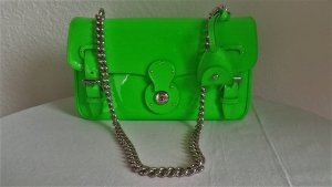 Ralph Lauren Collection, Ricky Chain Bag, Bright Green, Lackleder, neu, € 1.500,-