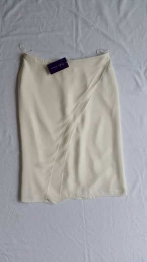 Ralph Lauren Collection, Rock, offwhite, Seide, 42, neu, € 1.800,-