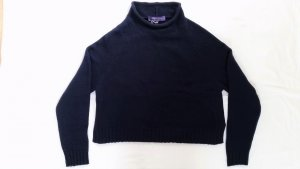 Ralph Lauren Collection, Roll Neck-Pullover, L, navy, Cashmere, neu, € 1.250,-