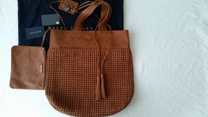 Ralph Lauren Collection, Shopper, cognac, Leder, neu, € 1.300,-