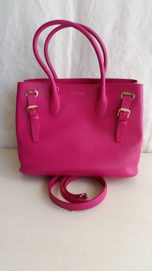 Ralph Lauren Collection, Small Grommet Tote Bag, Calfskin, pink, neu, € 1.250,-