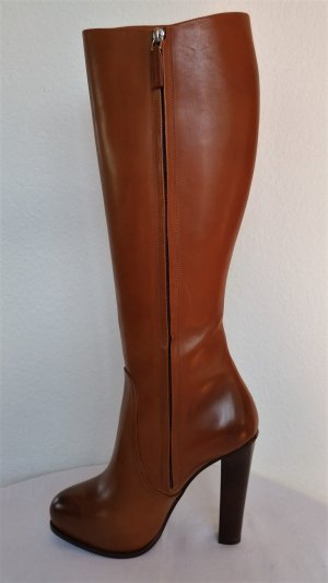 Ralph Lauren Collection, Stiefel, Leder, cognac, 39,5, neu, € 1.200,-