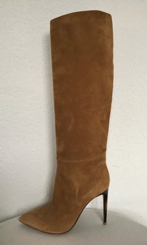 Ralph Lauren Collection, Stiefel Tacy II, camel/sand, EU 39,5, neu, € 1.250,-