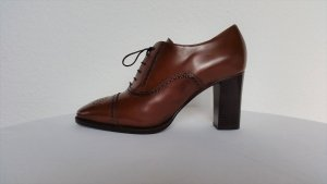 Ralph Lauren Collection, Stiefeletten, braun, Leder, EU 39, neu, € 750,-