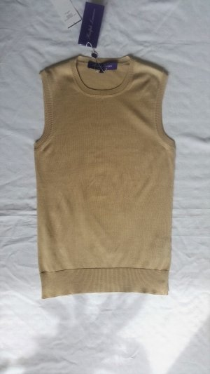 Ralph Lauren Collection, Top, beige, Seide, XS, neu, € 600,