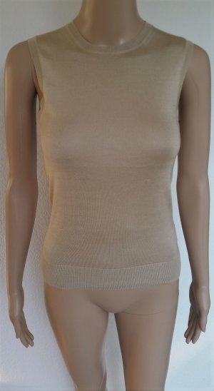 Ralph Lauren Collection, Top, sand, Seide, XS, neu, € 600,-
