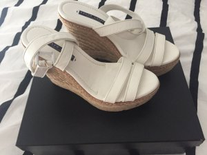 Ralph Lauren Collection Wedges Keilabsätze 39 Weiß