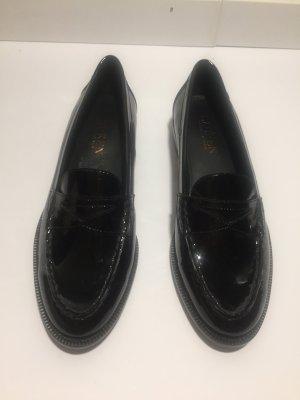 Ralph Lauren College-Schuhe schwarzer Lack Gr.36,5 NEU!