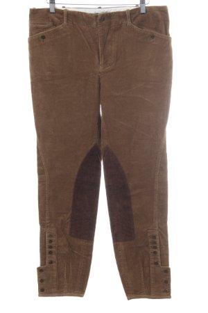 Ralph Lauren Corduroy Trousers brown-dark brown casual look