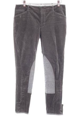 Ralph Lauren Pantalone di velluto a coste cachi-blu pallido stile casual