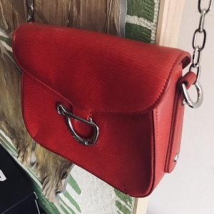 Ralph Lauren Bolso tipo pochette rojo-rojo oscuro